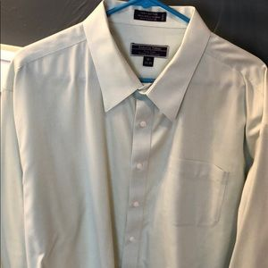 Men's Light Green Dress Shirt